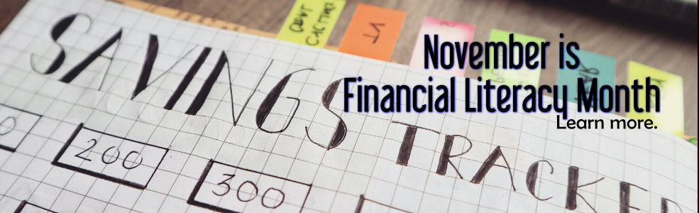 November is Financial Literacy Month 2